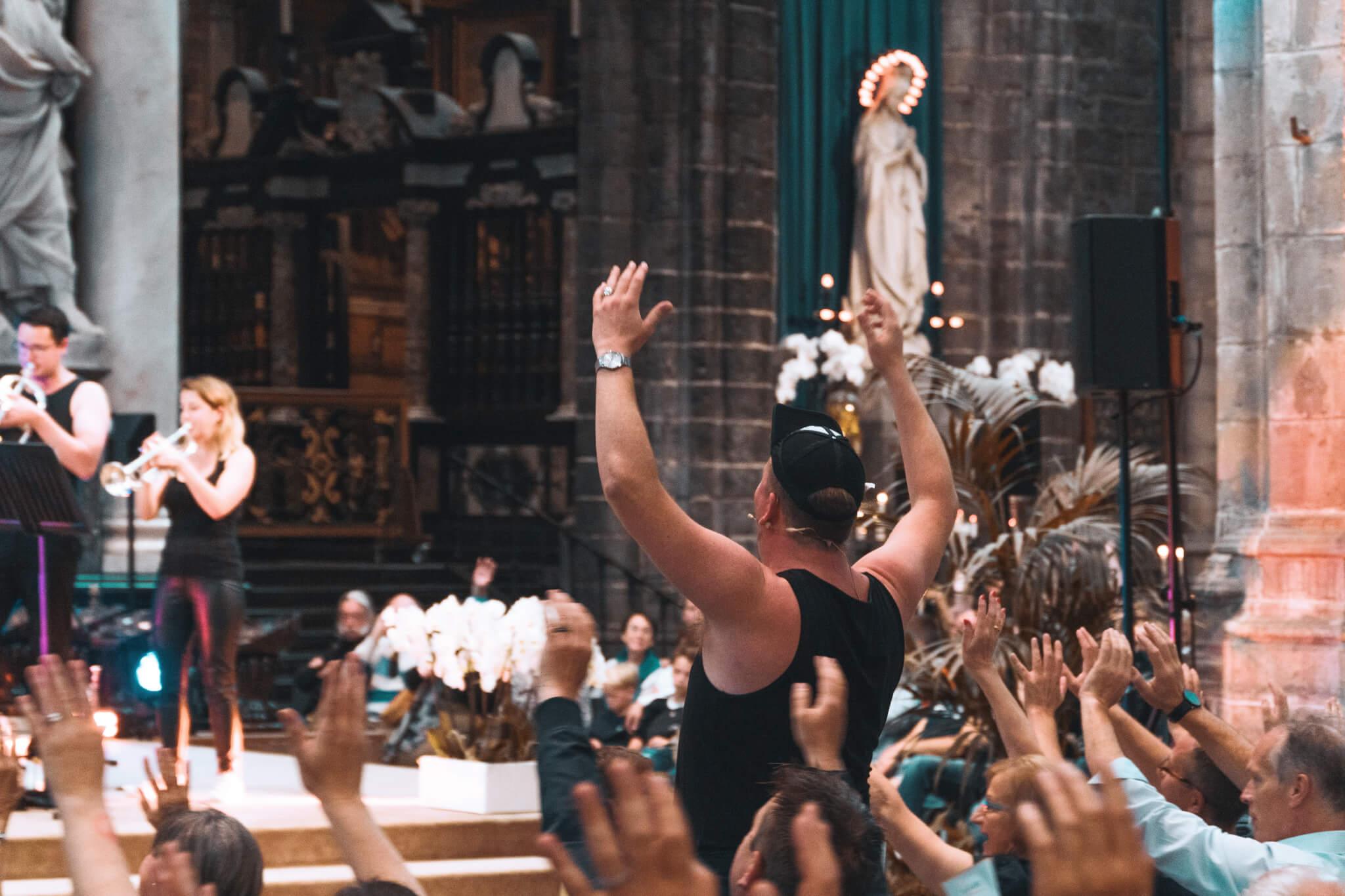 Die Verdammte Spielerei Concert Gentse Feesten Gent Sint Baafs Cathedraal
